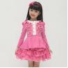 China 8078 spring autumn new arrival children  dress,girl  dress long sleeve dress wholesale