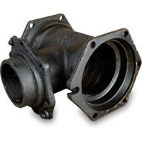 China AWWA C153 Cast Iron Pipe Fittings Mechanical Joint Pipe Fitting MJ x MJ Tees wholesale