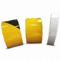 China High Intensity Reflective Tape in Silver, Yellow, Black Yellow Strip, Customized Sizes are Welcome on sale