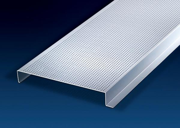 Quality Construction Decorative Sheet Metal Ceiling Tiles 200mm Width H-Shape  0.6 ~ 1.0mm for sale