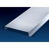 China Construction Decorative Sheet Metal Ceiling Tiles 200mm Width H-Shape  0.6 ~ 1.0mm wholesale
