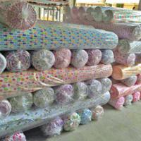China flower thread cotton chambray fabric on sale