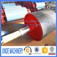 China ceramic coated conveyor pulley, conveyor drum pulley on sale