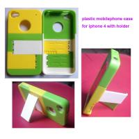Buy cheap Pc mobile phone case with holder,   plastic iphone 4 case from wholesalers