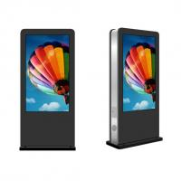 China 1080P 65'' Floor Standing Digital Signage With Advertisement Management Software on sale