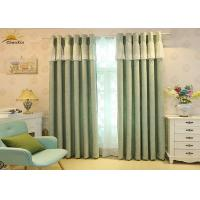 China Heavy Weight Jacquard Window Curtains For Living Room 75% - 85% Shading on sale