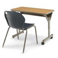 China double metal school desk and chair wholesale