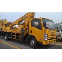 China Operating Radius 7.6m Boom Lift Truck XZJ5067JGK For Aerial Work wholesale