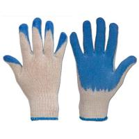 China yellow pvc coated industrial safety working glove wholesale