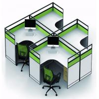 China Simple Melamine Office Furniture Partitions Environment - Friendly PE Painting wholesale