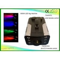China 7 Different Colors Indoor Stage Fog Machine 3 - In - 1 Led Remote Control / Dmx512 wholesale