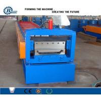 China Color Steel Aluminium Roof Panel Standing Seam Roll Forming Machine With Hydraulic System wholesale