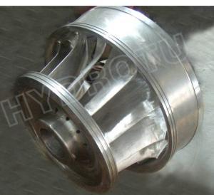 Buy cheap 0Cr13Ni4Mo ステンレス鋼材料が付いている横のシャフトのフランシス水車のランナー from wholesalers
