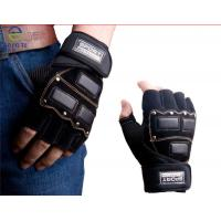 China hot sell pu coated gym gloves/ training gloves/racing gloves for men wholesale