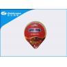China Different Size Heat Seal Foil Lids , Yogurt Cup Aluminium Foil Packaging wholesale