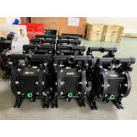 China Large Flow Metal Air Driven Double Diaphragm Pump With Simple Structure wholesale