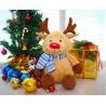 China Unique ELK Stuffed Animal , Animated Christmas Stuffed Animals For Children wholesale