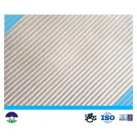 Buy cheap 760G PET/PP White Multifilament Woven Geotextile Fabric 200kN from wholesalers