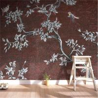 China Lotus Flower Tile Murals For Kitchen , Mosaic Tile Murals Easy To Clean wholesale