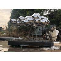 Buy cheap Wangstone Original Design Cloud Stainless Steel Sculpture,Mirror Polished Finish from wholesalers