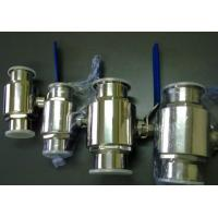China High Sealing Stainless Steel Ball Valve BPE Sanitary Pipe Fittings With Viton Seats wholesale