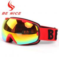 China Winter Sports Otg Ladies Snowboard Goggles With Interchangeable Lenses wholesale