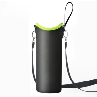 China Portable Neoprene 900ml Water Bottle Sleeve With Strap wholesale