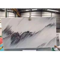 China Half  Style Blue Sky Marble Stone Slabs For Wall Background Beautiful Surface Appearance wholesale