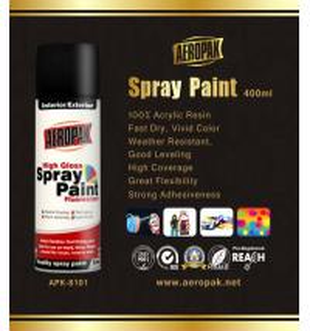 Odourless Aerosol Spray Paints Rich Metallic Finish Interior Exterior