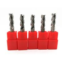 China CNC Machines Solid Carbide End Mills Milling Cutter Tools HRC45 ~ 60 wholesale