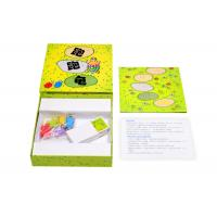 China Strategy Childrens Board Games Paper Insert With Printed Wooden Pieces BV SGS Certify wholesale