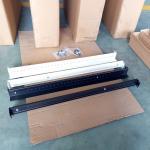 China Universal Adjustable Server Rack Rails 1U 30 - 60kg Static Loading 1.2mm Thickness wholesale