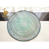 China Custom Comfortable Round Oriental Rugs Non Slip Short Plush Material wholesale