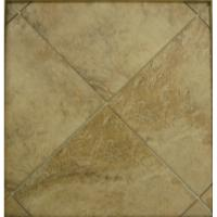 China wholesale thickness 10mm  Glazed porcelain floor bullnose tile types 600x600mm stone look wholesale