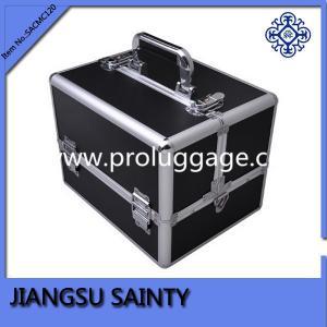 Promitional black PVC case makeup vanity box