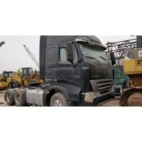 China HOWO 6X4 375 Hp Used Truck Tractor 280 - 420hp Horsepower With Left Hand Drive on sale
