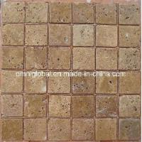 China Noce Travertine Marble Mosaic Tile/ Wall Tile/ Floor Tile on sale