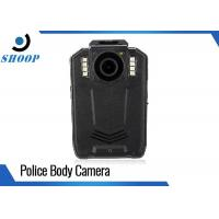 China 1296P Portable Police Body Cameras Black With 2.0 Inch LCD Display wholesale