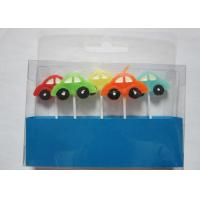China Stylish Race Car Shaped Birthday Candles Paraffin Art Candles Decorative For Boys wholesale