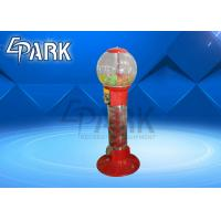 China Shopping Children Coin Operated Vending Machine / Gumball Ball Capsule Candy Game Machine on sale