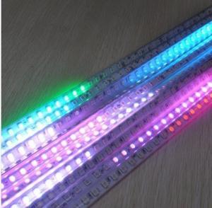China SMD 5050 Waterproof LED Meteor Rain Shower Light Christmas Tree Decorative tube Light RGB on sale