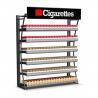 China Support d'affichage durable de paquet de poussoir de cigarette, support d'affichage de tabac de bâti de mur wholesale