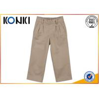 China Cotton Material Boys Grey School Trousers Customised Uniforms wholesale