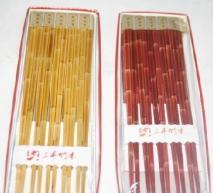 China Supply Bamboo-shaped bamboo chopsticks wholesale