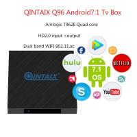China T962E Quad Core android7.1 smart Media Player 2gb ram 16gb rom 4K UHD HDMI Input with OUTPUT wholesale