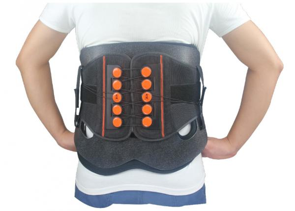 Quality Low Posterior Back Spine Brace Lumbar Back Support Belt For Muscle Strains for sale