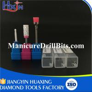 China Medium Type Small Ball Ceramic Nail Drill Bit With 3/32'' Shank Diameter wholesale
