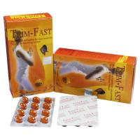 China Trim Fast  36 pills In Yellow Box Blister Packaging Fat Burning Softgels wholesale