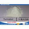 China Muscle el edificio 4-Chlorodehydromethyltestosterone oral esteroide Turinabol ningunos efectos secundarios 2446-23-3 wholesale