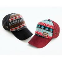 wholesale blank sport  caps with for 100% cotton black&res Fashion personalized winter sex hats56-58cm for factory china